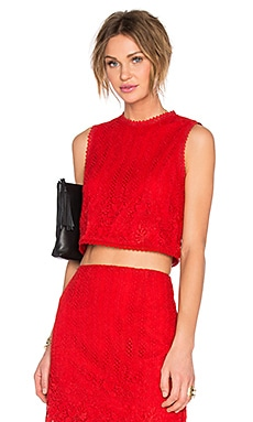 x REVOLVE Love Escape Top in Red