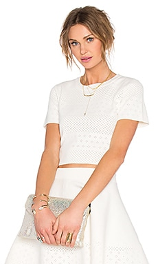 x REVOLVE Be Mine Top in White