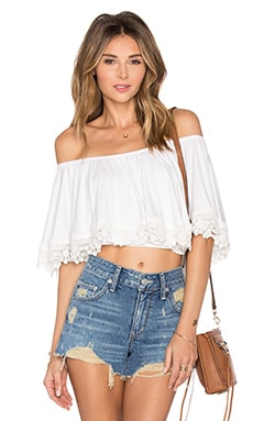 Love Me Top in Ivory