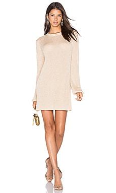 Dress 21 in Gold Lurex