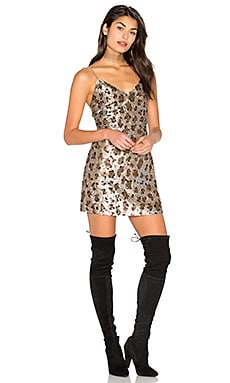 Dress 63 in Leopard Sequin
