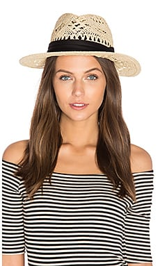 Jet Setter Hat in Natural