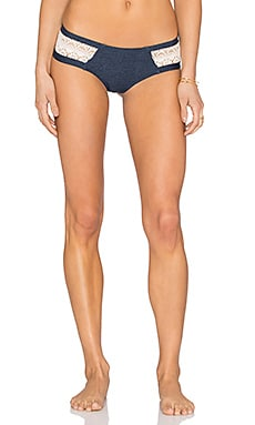 Twilight Bikini Bottom in Antique Denim