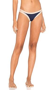 Charlie Bikini Bottom in Midnight Blue & Skin