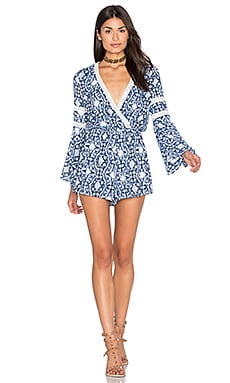 Mazarron Romper in Navy