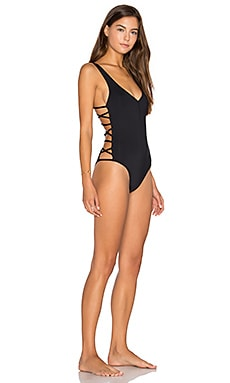Ricki Classic One Piece in Black