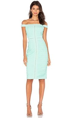 Blame Game Lace Dress in Mint