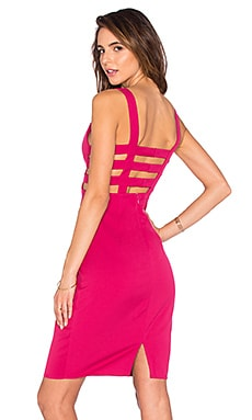 Happily Ever After Mini Dress in Berry