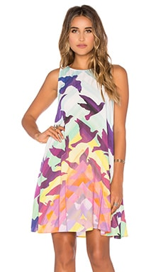 Swing Mini Dress in Prismatic