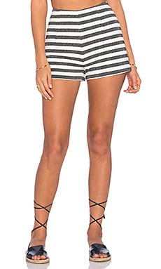 Short in Stripe Jacquard