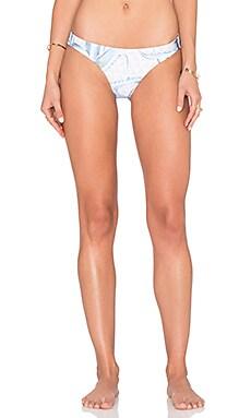 Reversible Low Rise Bikini Bottom in Aloe Pastel Pink