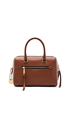 Recruit Bauletto Bag in Cognac