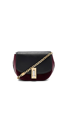 West End Suede Jane Bag in Bordeux Multi