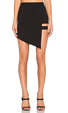 Cage Skirt in Black