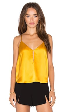 Front Slit Cami in Mango