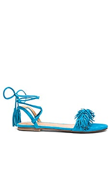 Delilah Sandal in Teal
