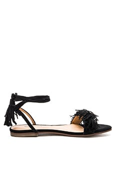 Delilah Sandal in Black