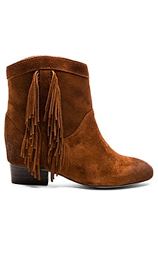 Jill Booties in Rust