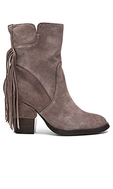 Fabiola Booties in Taupe