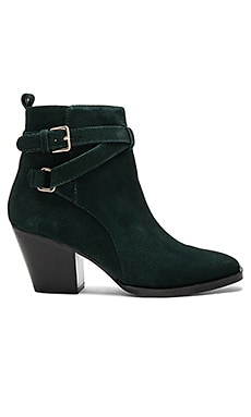 Amie Booties in Hunter