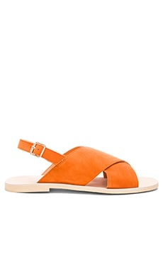 Arielle Sandal in Orange