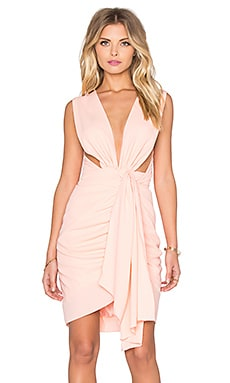 Quentin Dress in Peachy