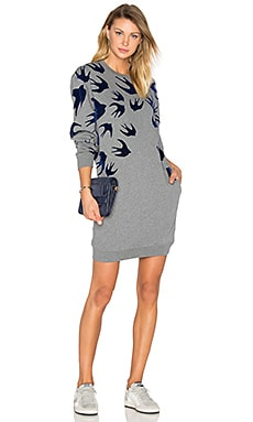 Classic Sweater Dress in Stone Melange
