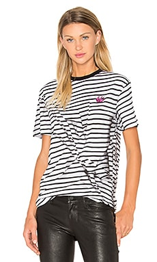 Classic T-Shirt in Broken Stripe