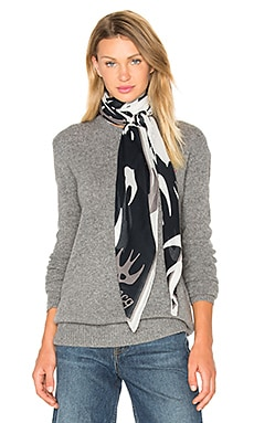 Swallow Swarm Scarf in Pearl Grey