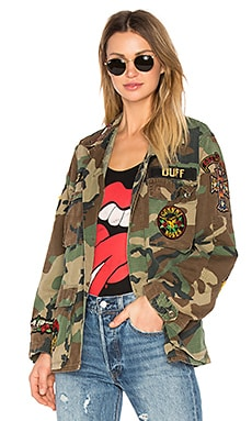 Welcome to the Jungle Jacket in Camo