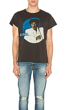 Lionel Richie Tee in Dirty Black
