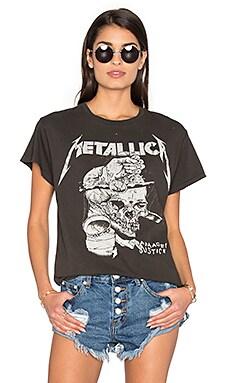 Metallica Harvester Tee in Dirty Black