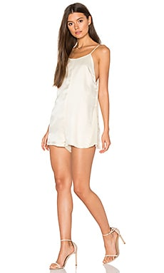 Redford Romper in Ivory