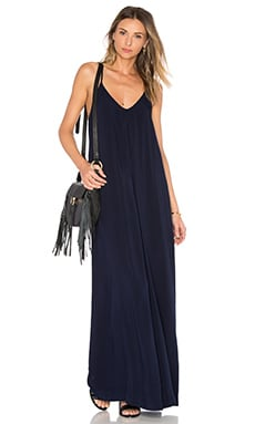 Maxi Slip Dress in Nocturnal