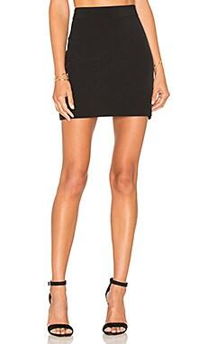 Modern Mini Skirt in Black