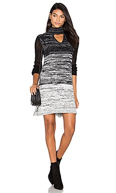 Spectrum Sweater Dress in Black