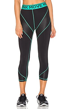 Work It Out 3/4 Legging in Multi