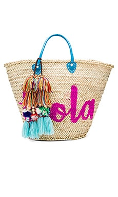 Marrakech 'Hola' Bag in Turquoise
