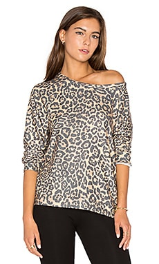 Percy Pullover in Tan Leopard