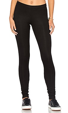 Vic Rib Legging in Black
