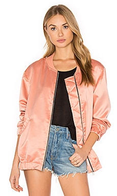 Coppens Bomber in Dark Peach