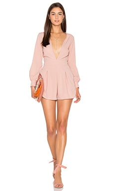 Millicent Romper in Blush
