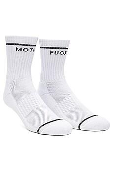 Baby Steps Socks in White & Black