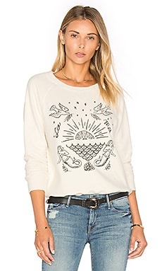 The Square Sweatshirt in Ready To Serve