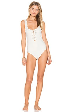 Palm Springs Tie One Piece in Coconut