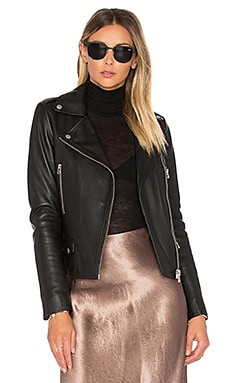 Granger Biker Jacket in Black