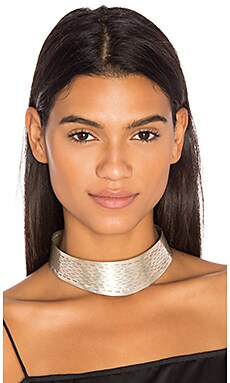 The Yev Collar in Silver