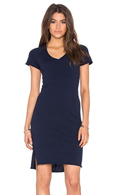 Angela Dress in Navy