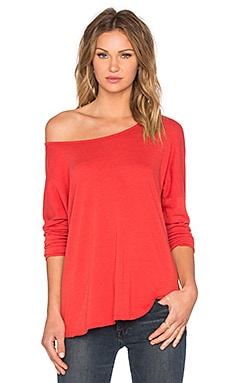 Marco Island Top in Hot Coral