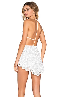 x REVOLVE Get Out Dress in White